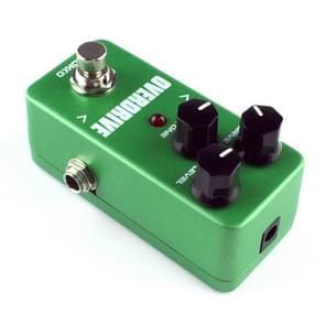 KOKKO FOD3 Mini elektrische gitaar buis geluid overbelasting Monoblock effecten Pedal(Green)