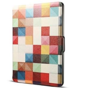 Dibase voor de Amazon Kindle 8e 2016 6 inch kleuren Magic Cube Print horizontale Flip PU lederen beschermhoes