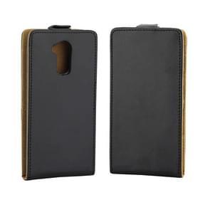 Voor Huawei Honor 6C / nova Smart verticale Flip Business-stijl lederen Case Cover met kaartslot (zwart)