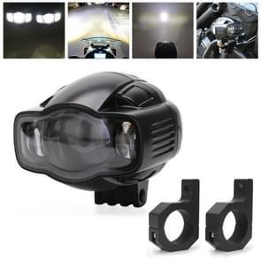 Speedpark Motorcycle Fog Light 22-40mm USB LED Motorcycle Spotlight met Bracket voor Yamaha / Kawasaki / BMW / Honda