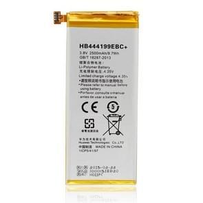 2500mAh Li-polymeer batterij HB444199EBC voor Huawei Honor 4C / C8818 / CHM-UL00 / CHM-TL00H / CHM-CL00