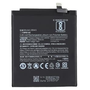 4000mAh Li-polymeer batterij BN43 voor Xiaomi Redmi Note 4 X