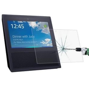 0.3mm 9H 2.5D HD explosieveilige getemperd glas Film voor Amazon Echo Toon slimme Speaker