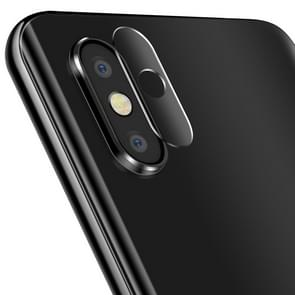 0.3 mm 2.5 D transparante achterzijde camera lens Protector getemperd glas film voor Motorola One Power