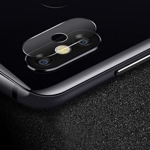 0.3 mm 2.5 D transparante achterzijde camera lens Protector getemperd glas film voor Motorola Moto P30 Opmerking