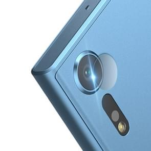 0.3 mm 2.5 D transparante achterzijde camera lens Protector getemperd glas film voor Sony Xperia XZ