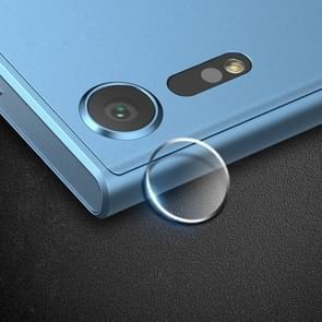 0.3 mm 2.5 D transparante achterzijde camera lens Protector getemperd glas film voor Sony Xperia XZs