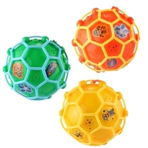 3 delige elektrische Dance muziek gekke bal LED kinderen creativiteit stuiterende bal speelgoed  willekeurige kleur levering