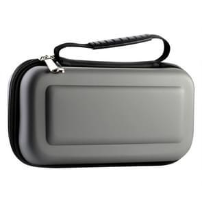 Draagbare EVA opbergtas handtas beschermende doos voor Nintendo switch (zilvergrijs)