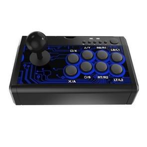 Dobe TP4-1886 7 in 1 Game Joystick KOF Fighting Arcade Handle voor Nintendo Switch / PS4 / Xbox One(Zwart)