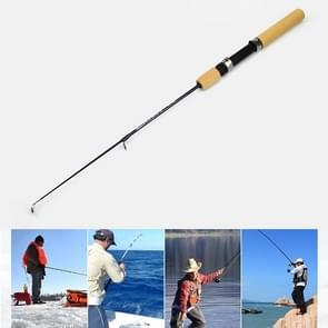 27cm Portable Ice Fishing Rod Shrimp Rod Lure Rod Fishing Gear Fittings   Extension Length : 60 cm