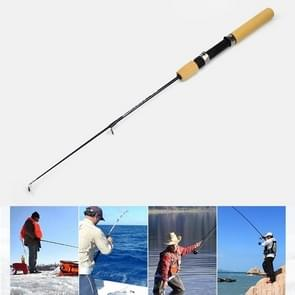 31cm Portable Ice Fishing Rod Shrimp Rod Lure Rod Fishing Gear Fittings   Extension Length : 80 cm