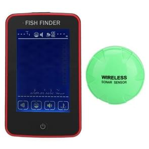 Portable Waterproof Wireless Color Touch Screen Fishing Device Fish Finder