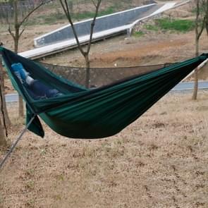 Buiten Nylon Taffeta hangmat Portable strand schommel Bed met moskitonet  grootte: 2.6 x 1.4m
