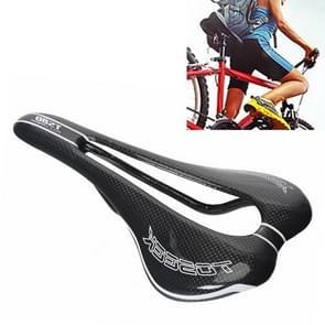 TOSEEK Road Bike Carbon Fiber zadel fiets holle zadel zadel  3K textuur + licht