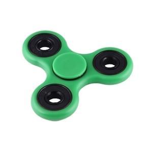 Fidget Spinner Speeltje tegen stress en angst voor kinderen en volwassenen  4 Minuten Rotatie Tijd  Hybride Keramische Lager + POM materiaal (groen)