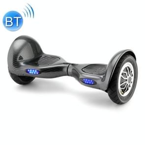 [EU Warehouse] 10 inch Balance Scooter 350W 4.0Ah Two-wheeled Scooter with Bluetooth & Remote Control & LED Turn Signal Lights & Car Bag  Max Speed :15km/h (Carbon Fiber Black)