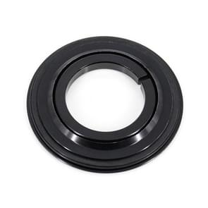 Fiets Headset Dual-purpose kroon wielerwedstrijd 30mm & 39.8mm 1-1/8 inch tot 1-1/2 inch(Black)