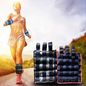 Een paar van Verkoopmanager Fitness apparatuur enkel laden gewichten Gaiter zandzakken  verstelbare onzichtbare Running Sport zandzakken  gewicht: 5kg