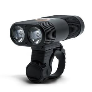 Y12 Fiets LED koplamp voorlicht 2 x XPE LEDs 350LM USB opladen fiets koplamp met 5 modi