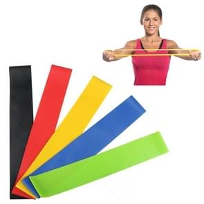 5 Color (Black  Blue  Green  Red  Yellow) Heavy Thicker Resistance Bands Fitness Natural Latex Stretch Band Yoga Straps with Pouch Bag