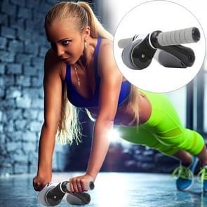 Folding abdominale Roller ronde Home Office dempen Fitness apparatuur sport voor Man / vrouw (zwart)