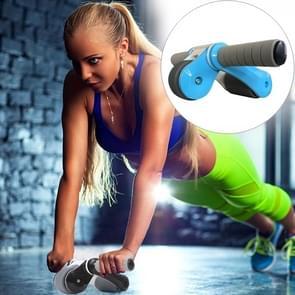 Folding abdominale Roller ronde Home Office dempen Fitness apparatuur sport voor Man / vrouw (blauw)