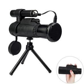 12 x draagbare High Definition infrarood nacht visie monoculaire telescoop  Support telefoon fotografie / Video