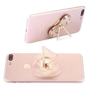 Diamant ingelegde telefoon driehoek houder Fidget Spinner Toy Stress Reducer anti-angst Toy  ongeveer 1 minuut rotatietijd