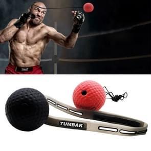 BONSEM Head-mounted PU Leather Fight Club Training Volwassenen Boksen Elastic Ball