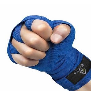 BONSEM Training Boksen Bandage voor volwassenen  Grootte: 2 5 m (Blauw)