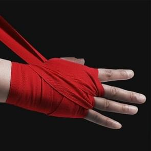 BONSEM Training Boksen Bandage voor volwassenen  Grootte: 2 5 m (Rood)