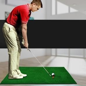 Indoor Golf Practice Mat EVA Materials Golf Exercise Mat with TEE Regular Edition  Size: 50*80cm