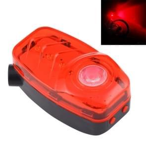Red Light 2 LED 4 Modes & 2 Laser 2 Modes Bicycle Rear Light Warning Light with Handlebar Mount