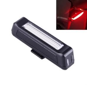 RAYPAL RPL-2261 100LM Roodlicht COB LED USB oplaadbare 6 modi fiets achter licht licht met stuurhouder waarschuwing