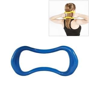 Soepele Yoga Pilates magische cirkel fascia stretching training ring (blauw)