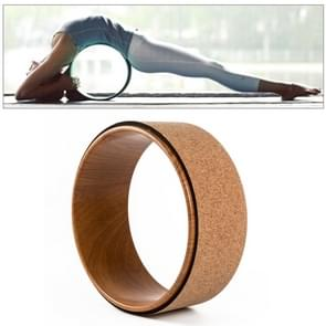 Cork + ABS Yoga wiel Pilates Yoga-assistent opleiding Massage cirkel
