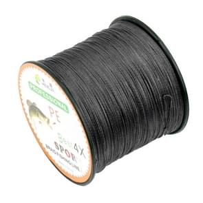 8.0# 0.50mm 80LB 40.8kg Tension 500m Extra Strong 4 Shares Braid PE Fishing Line Kite Line(Black)