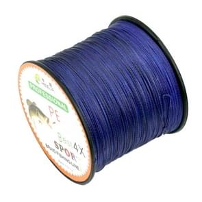 8.0# 0.50mm 80LB 40.8kg Tension 500m Extra Strong 4 Shares Braid PE Fishing Line Kite Line(Dark Blue)
