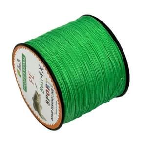 8.0# 0 50 mm 80LB 40.8kg spanning 500m Extra sterk 4 aandelen vlecht PE vislijn Kite Line(Green)