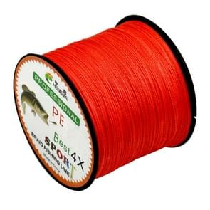 8.0# 0.50mm 80LB 40.8kg Tension 500m Extra Strong 4 Shares Braid PE Fishing Line Kite Line(Red)