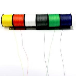 8.0# 0 50 mm 80LB 40.8kg spanning 500m Extra sterk 4 aandelen vlecht PE vislijn Kite Line(White)