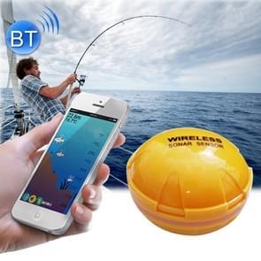 Bluetooth vis Detector 125KHz Sonar Sensor 0.6-36 m diepte Locator vissen Finder Alarm voor iOS & Android mobiele telefoons