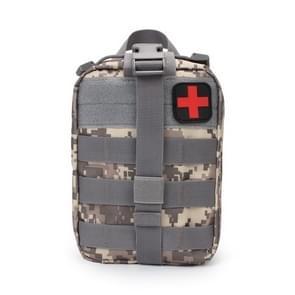 Outdoor reizen draagbare EHBO kit (grijs)