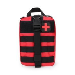 Outdoor reizen draagbare EHBO kit (rood)