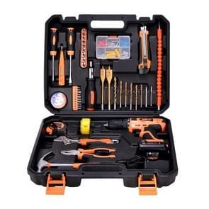 STT-044B multifunctionele huishoudelijke 44-delige elektricien reparatie Toolbox 12V nieuw Lithium elektrisch Boorpak