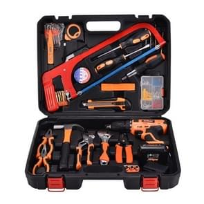 STT-052B multifunctionele huishoudelijke 52-delige elektricien reparatie Toolbox nieuw 12V Lithium elektrisch Boorpak
