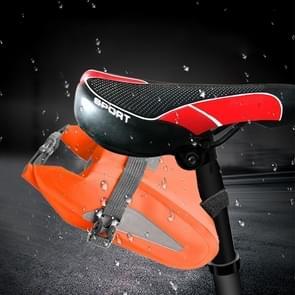 Buiten waterdichte multifunctionele PVC tas Tool Bag voor fiets (oranje)