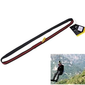 Gewaardeerd op de 22kN klimmen Sling  lengte: 120cm