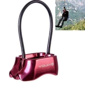 Veiligheid abseilen vastsjorren abseilen apparaat voor klimmen  willekeurige kleur